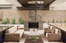 gabion retaining wall patio decorating house exterior