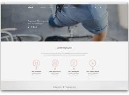 Free Web Resume Templates Simple Html Vcard Resume Template Free Download Html Resume 44