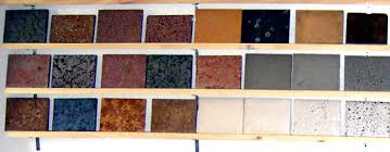 diffe choice in countertop materials