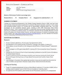 Executive Summary Example Apa Example