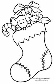Small Picture Christmas Stocking Coloring Page I love christmas Pinterest
