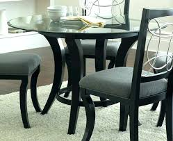 small black dining table round glass dining table set small black chairs 6 small black dining