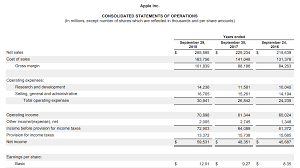 Income Statement Forecast Plan Projections