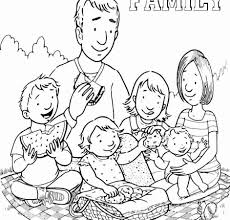 I Love My Family Coloring Pages 4 Futuramame