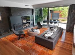 Orange Rug Living Room Living Room