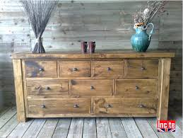 long chest of drawers. Brilliant Chest Plank Pine Long Boy Chest Of Drawers Intended S