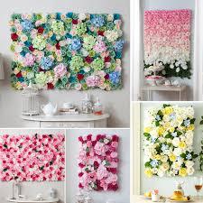 custom wedding theme artificial silk rose for wedding background flower wall decoration party home pillar road