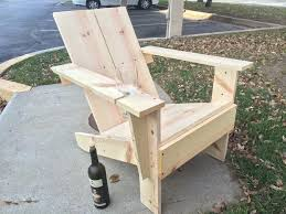 simple wooden chair. DIY Homemade Wooden Chair With Built In Wine Glass Holder! Simple -
