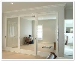 innovative ideas wood framed mirror closet doors make the most out of glass sliding closet doors