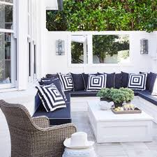 patio furniture for small spaces. { B A N Q U E T } Our Custom Outdoor Banquette Seating Is Perfect Addition To Maximise Small Space Into Useable Area For Lounging. Patio Furniture Spaces