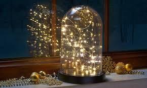 lighting jar. The Bell Jar Fairy Light - Glass Dome Night Lighting