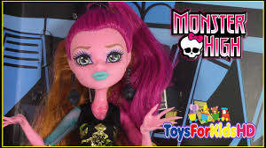 muñeca monster high gigi grant muñeca monster high en español monster high doll