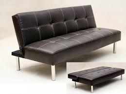 leather sofa bed. Delighful Leather Click Leather Sofabed In With Sofa Bed M