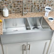 Hahn Flat Apron Farmhouse Kitchen Sink Lowes Canada