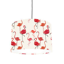 Flamingo Lampshade Made For Ceiling Or Lamp By Bymarie