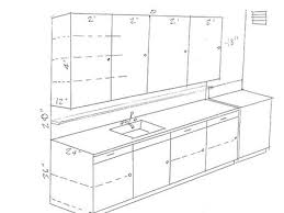 kitchen countertop dimensions for designs standard counter size with regard to plans 40