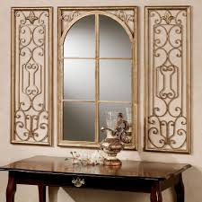 provence antique gold wall mirror set of three touch to zoom