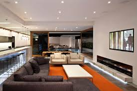 Orange Color For Living Room Orange Living Room Ideas Traditional Living Room Ideas With