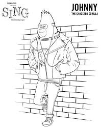 Leuk Voor Kids Johnny Gorilla Is A Gangster