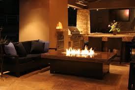 bold design indoor fire pit home designing
