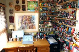 man cave home office. Geek Decoration Archives Paty Shibuyapaty Shibuya A Nerd Caveman Caveworkshop Ideastherapy Small Man Cave Office Ideas Home