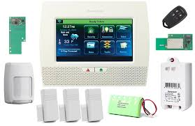 com honeywell lynx touch l7000 wireless residential commercial security alarm kit with wifi and zwave module photo