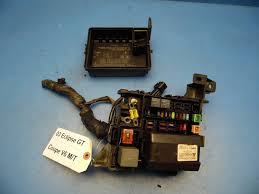 00 05 mitsubishi eclipse oem under hood fuse box with fuses how to change a fuse in an old fuse box at Fuse Box Fuses
