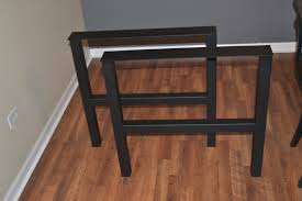 Steel Coffee Table Frame Metal Coffee Table Legs Steel H Frame Style Any Size