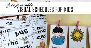 Visual daily routine chart for kids in english, chinese, korean (free printable). Free Visual Schedule Printables To Help Kids With Daily Routines And Next Comes L Hyperlexia Resources