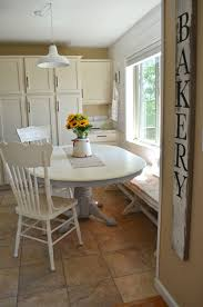image of refinishing dining table with chalk paint