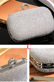 <b>Crystal Beaded Evening</b> Bags/ Women's Bags/Wedding Handbag
