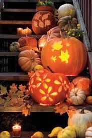 Halloween Pumpkin Patterns Interesting Decorating Ideas