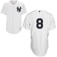 Yogi 1951 8 New Yankees 2ea80 Reduced York Jersey Berra Throwback 53940 White
