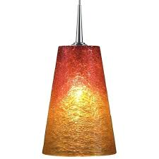 4 inch glass light globes sunrise glass shade chrome 4 inch canopy matte pendant led light