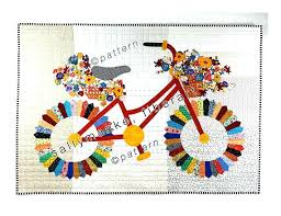 whimsical wall art whimsical bicycle art quilt pattern original design wall art like this item whimsical on whimsical metal fish wall art with whimsical wall art whimsical bicycle art quilt pattern original