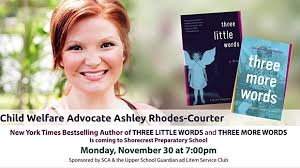 Child Welfare Advocate and Bestselling Author Ashley Rhodes-Courter