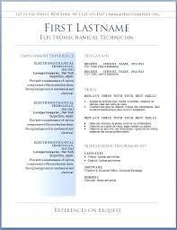 Good Cv Template Resume Example