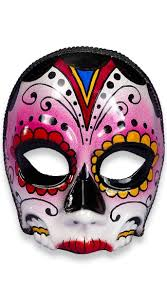 Mask Decoration Ideas of the Dead Senorita Face Mask Day of the Dead Makeup Ideas Day 53