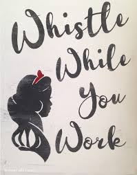 disney office decor. whistle while you work snow white sign office signsoffice decoroffice disney decor