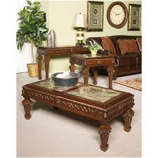 4 Ashley Furniture North Shore Living Room Sofa Table