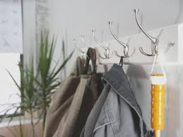 Monterey Wall Mounted Coat Rack In White Prepac Monterey WallMounted Coat Rack in WhiteWEC100 The 79