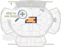 State Farm Center Seating Chart With Seat Numbers Philips Arena Seat Row Numbers Detailed Seating Chart