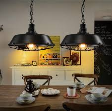 retro lighting. loft style iron art retro pendant light fixtures vintage industrial lighting for dining room hanging lamp