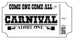Printable Carnival Tickets Carnival Tickets Templates Free Printable Cloudinvitation Com