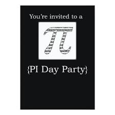 pi day invitation pi day party invitations announcements zazzle