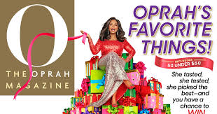 watch oprah releases her list of favorite things for 2018 annual gift list for holiday season revealed on gma s deals and steals bcnn1 black