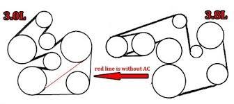 2001 ford windstar 3 8 serpentine belt diagram vehiclepad 1999 2003 ford windstar 3 0l and 3 8l serpentine belt diagram