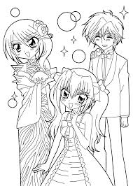 Kilari And Seiji Anime Coloring Pages
