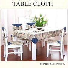 dining table cover padded covers modern tablecloth linen fabric cloth square55