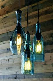 wine bottle light fixture awesome lamp kit diy pendant lights wine bottle accent lights